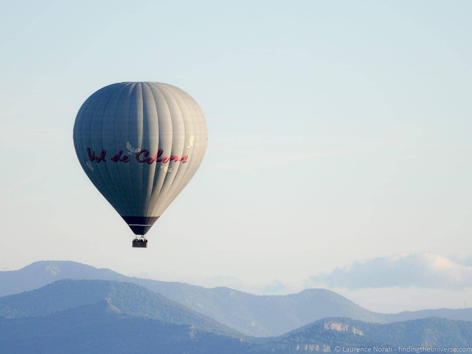 Balloon Vol de Coloms Costa Brava 8