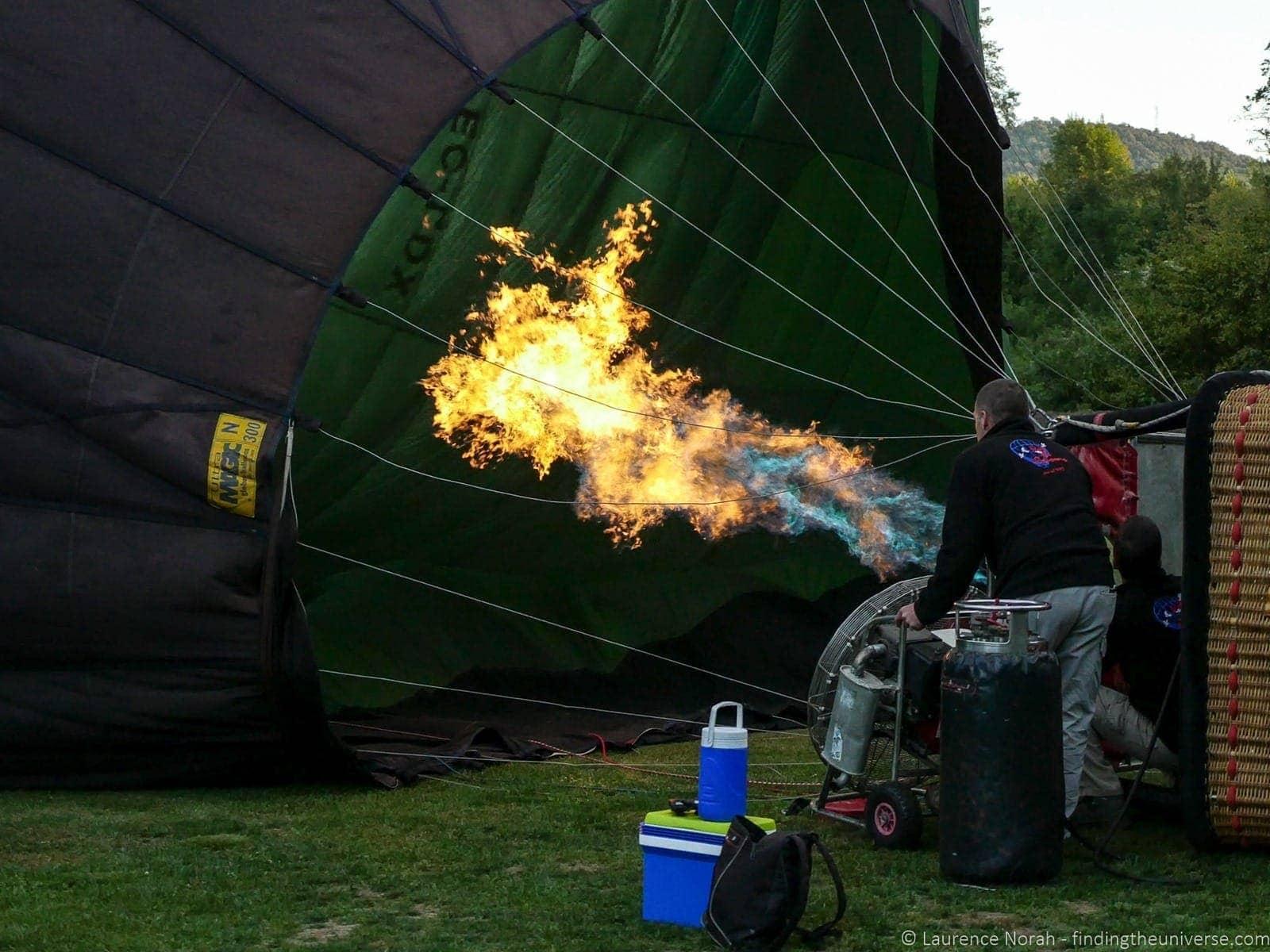 Balloon Vol de Coloms Costa Brava