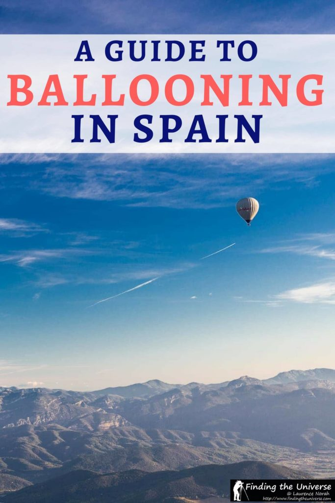 A detailed guide to going hot air ballooning in Spain, with photos from a trip in a hot air balloon over the volcanic region of La Garroxta. Includes everything you need to know to plan your own hot air balloon ride in Spain!