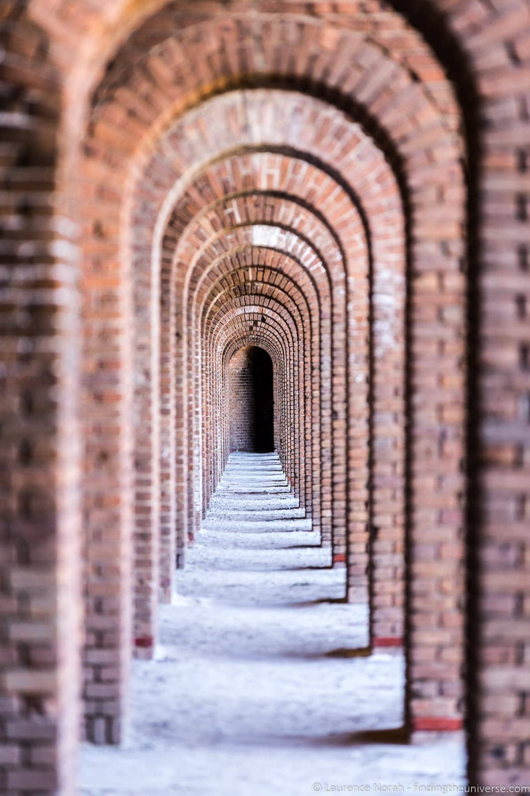 Fort Jefferson Dry Torgtugas interior