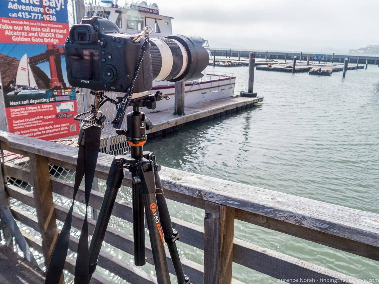 Photographing tourists pier 39 San Francisco