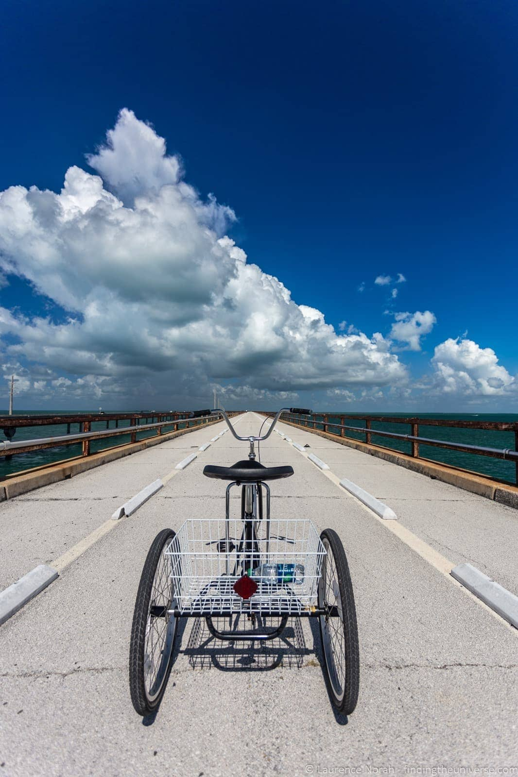 Tricycle seven mile bridge florida keys