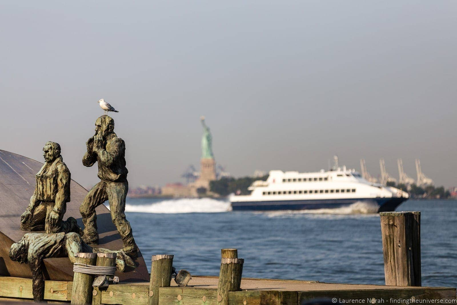 Boat trip to Statue of Liberty Walks of New York walking tour