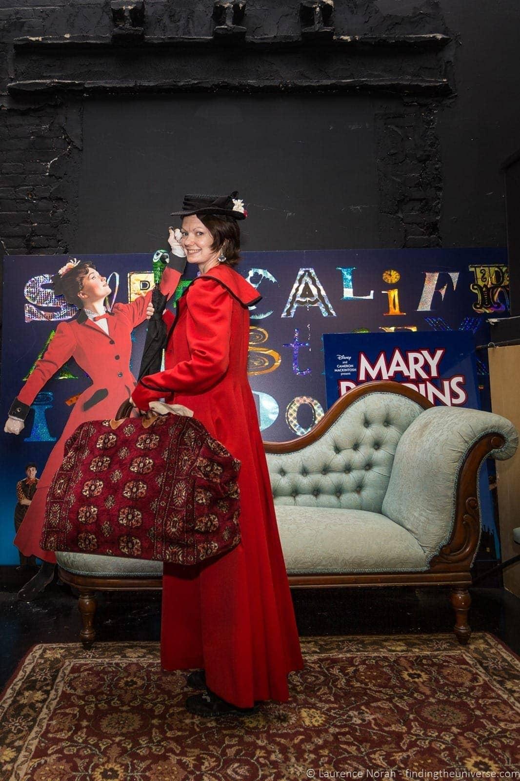 Jess as Mary Poppins Walks of New York Broadway Tour