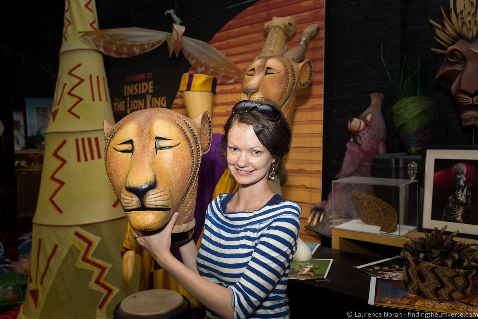 Lion King Mask Broadway Walks of New York