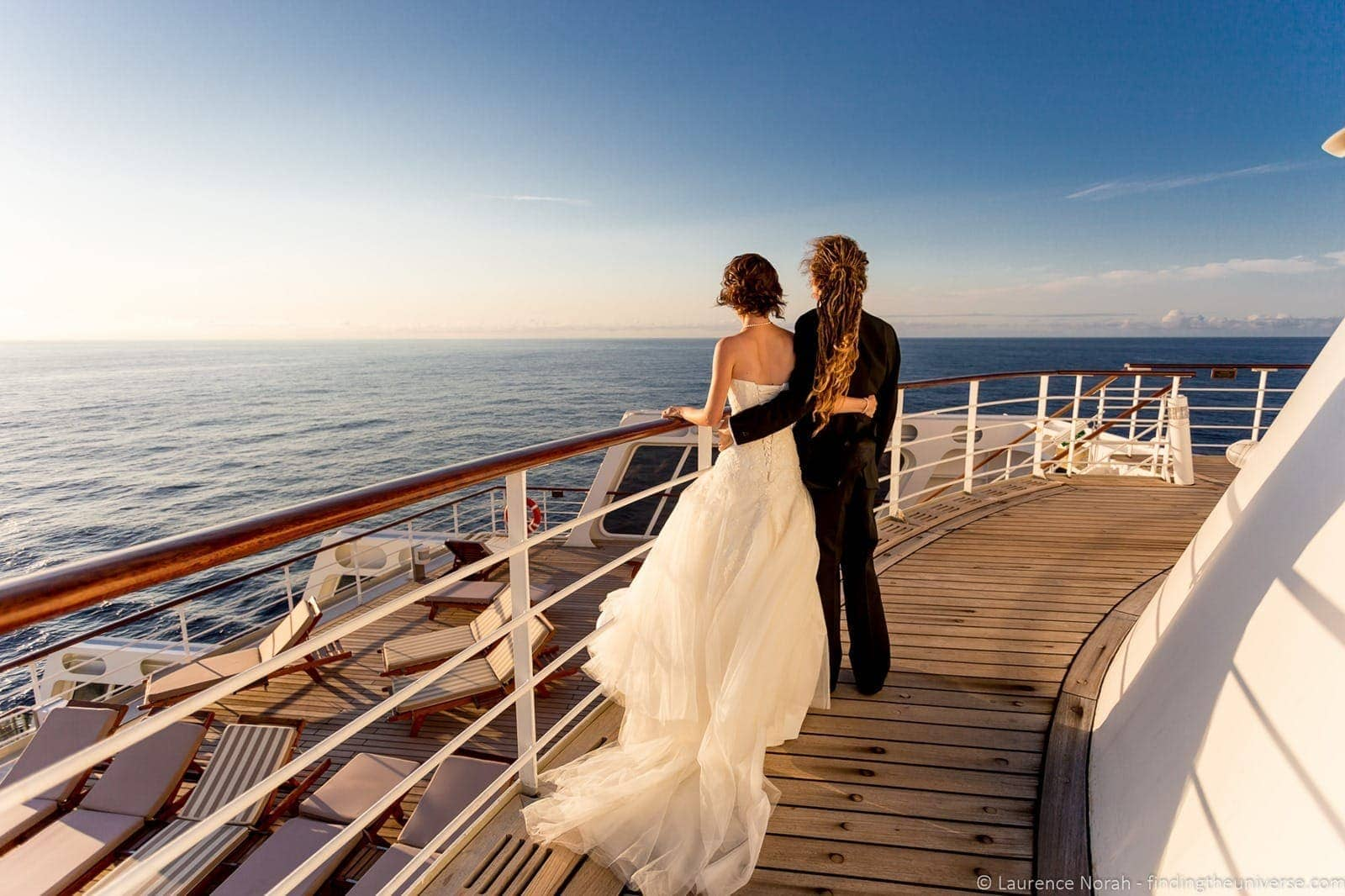 Photographing own Wedding on Queen Mary-1-2