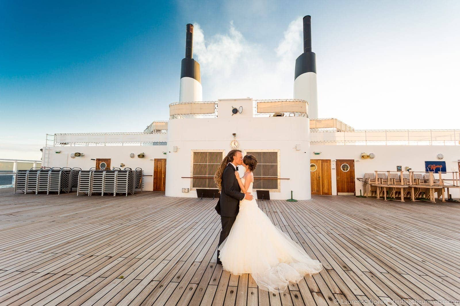 Photographing own Wedding on Queen Mary-1-3