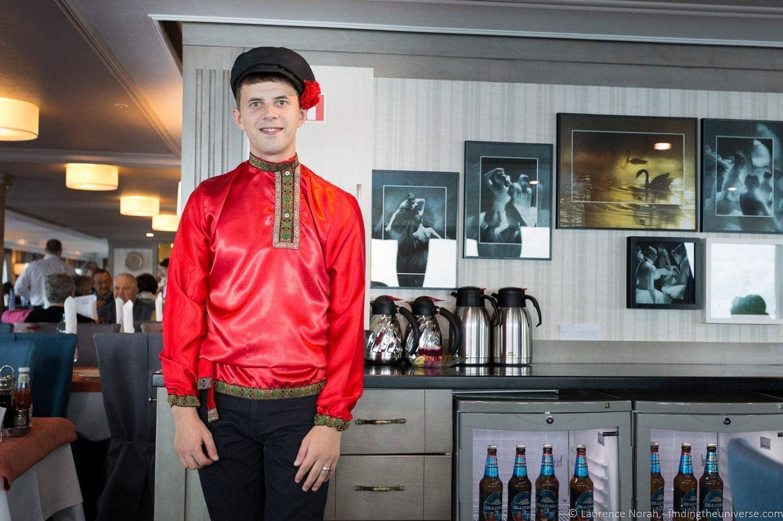 Russia river cruise staff uniform