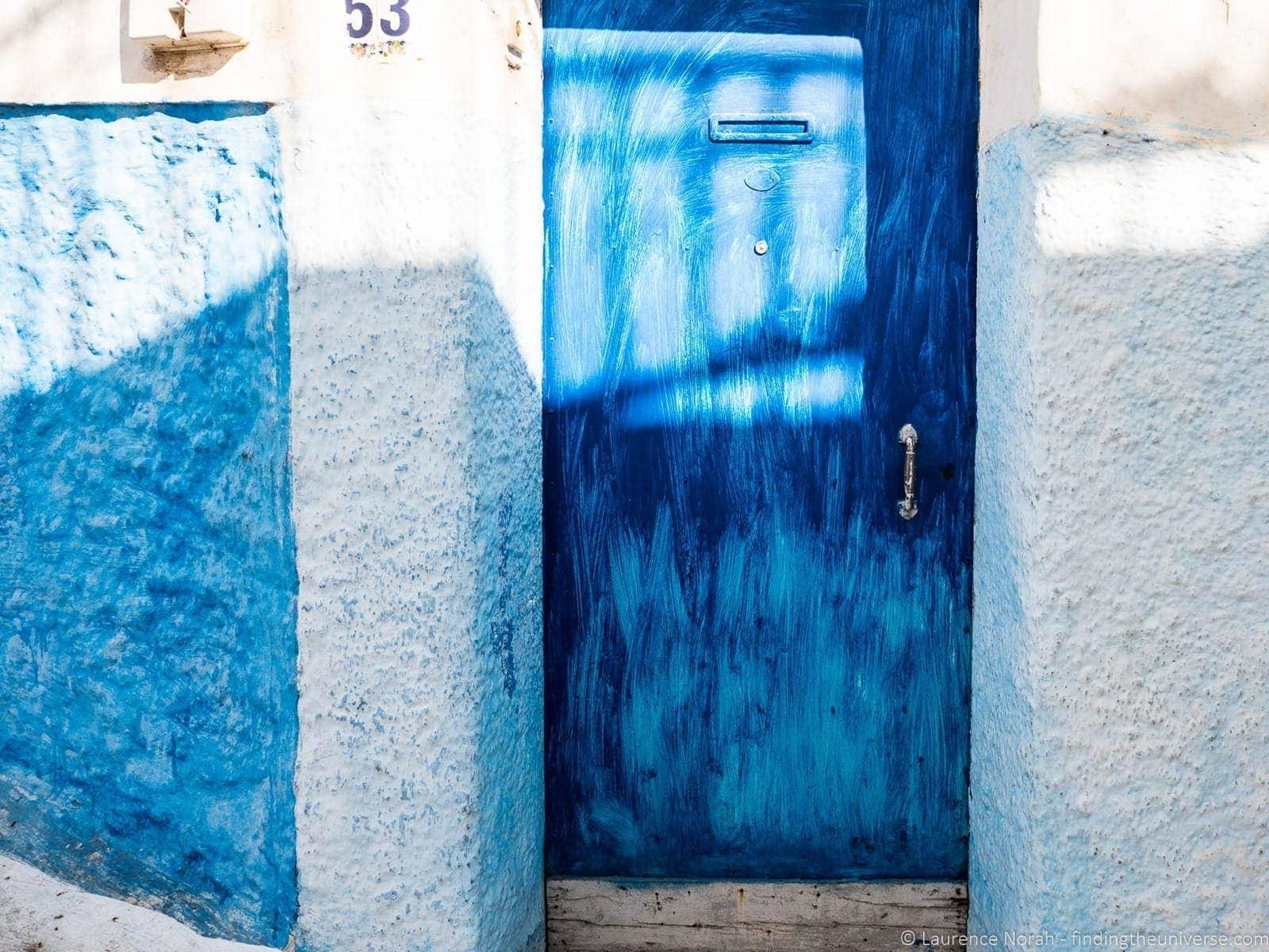 Doorway in rabat Morocco