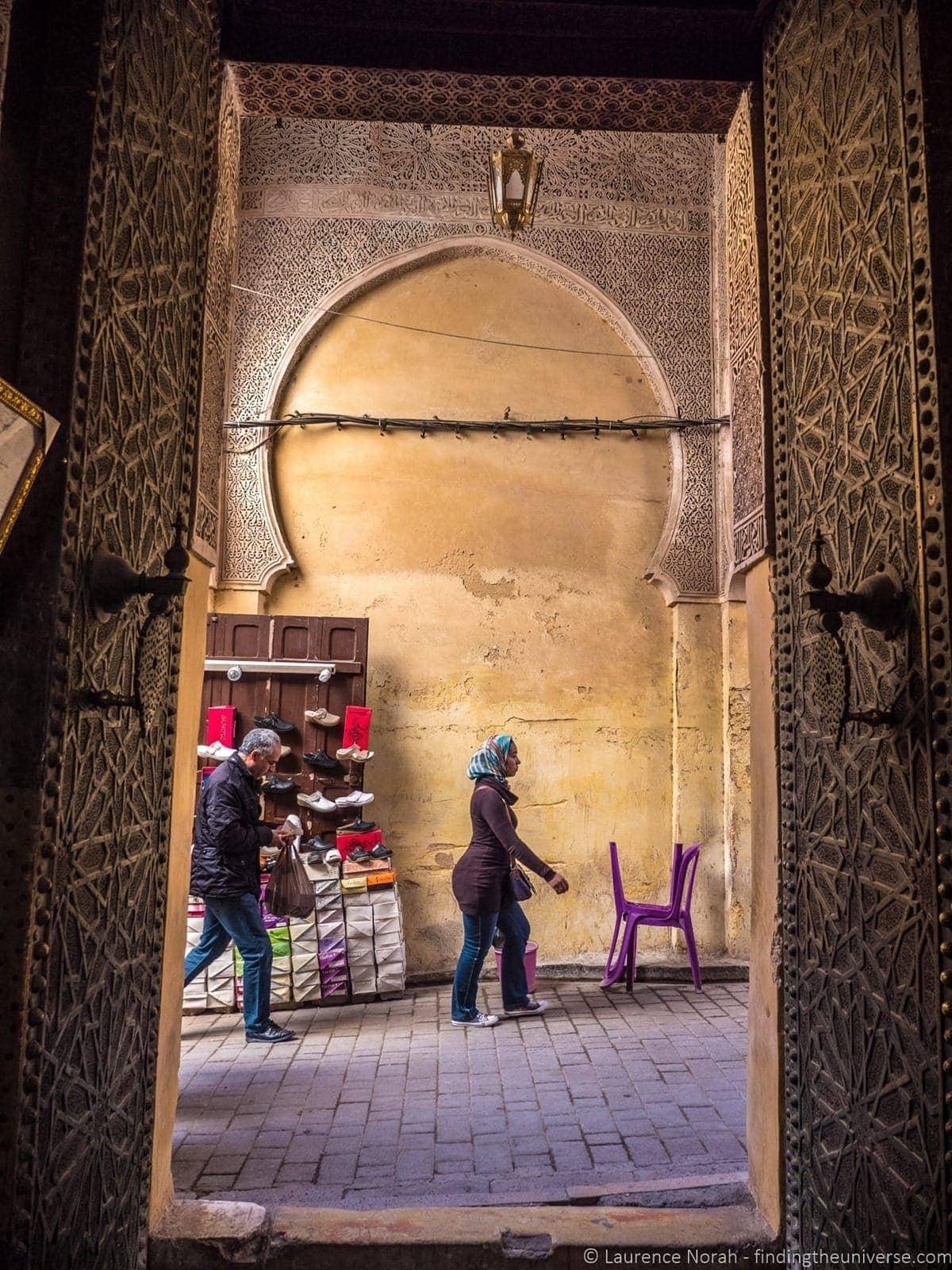Doorway Fez Morocco
