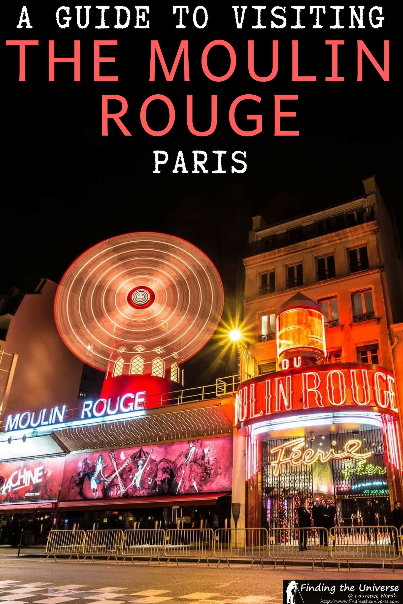 A detailed guide to visiting the Moulin Rouge in Paris, with everything you need to know to plan your own visit, including ticket options, getting here and more! #paris #france #moulinrouge