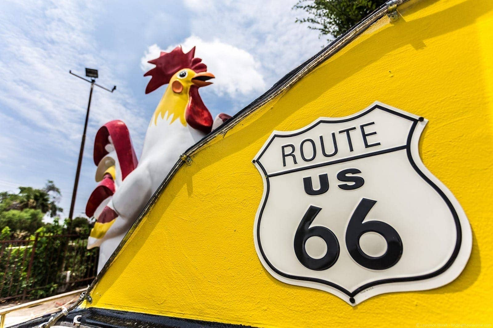 Route 66 giant chicken