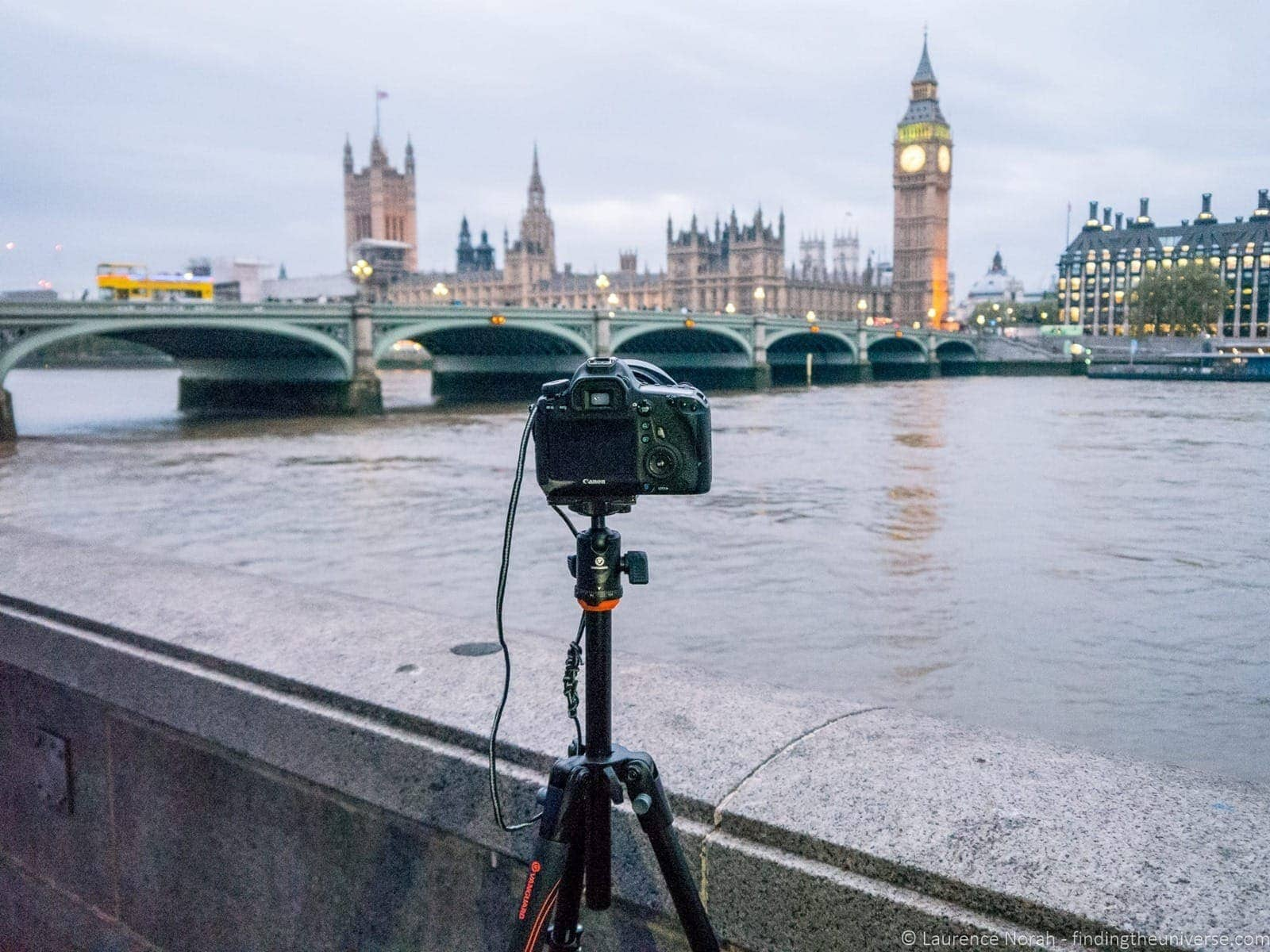 shooting houses of parliament london from south bank photography location