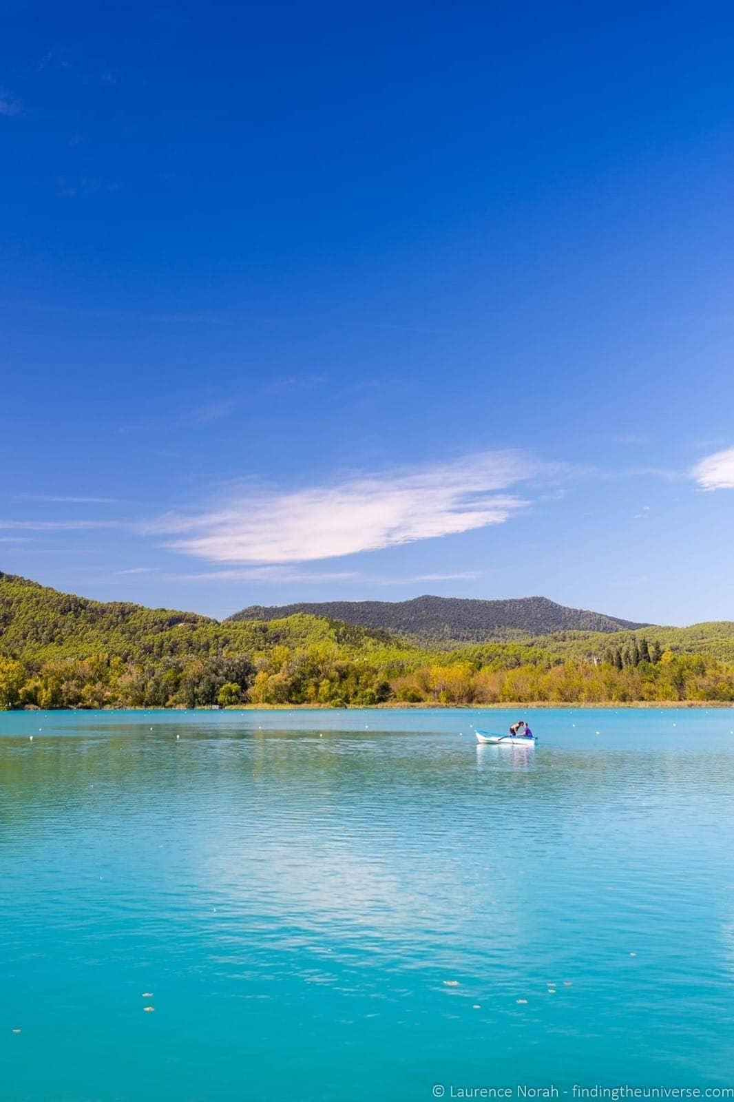 Banyoles lake boats