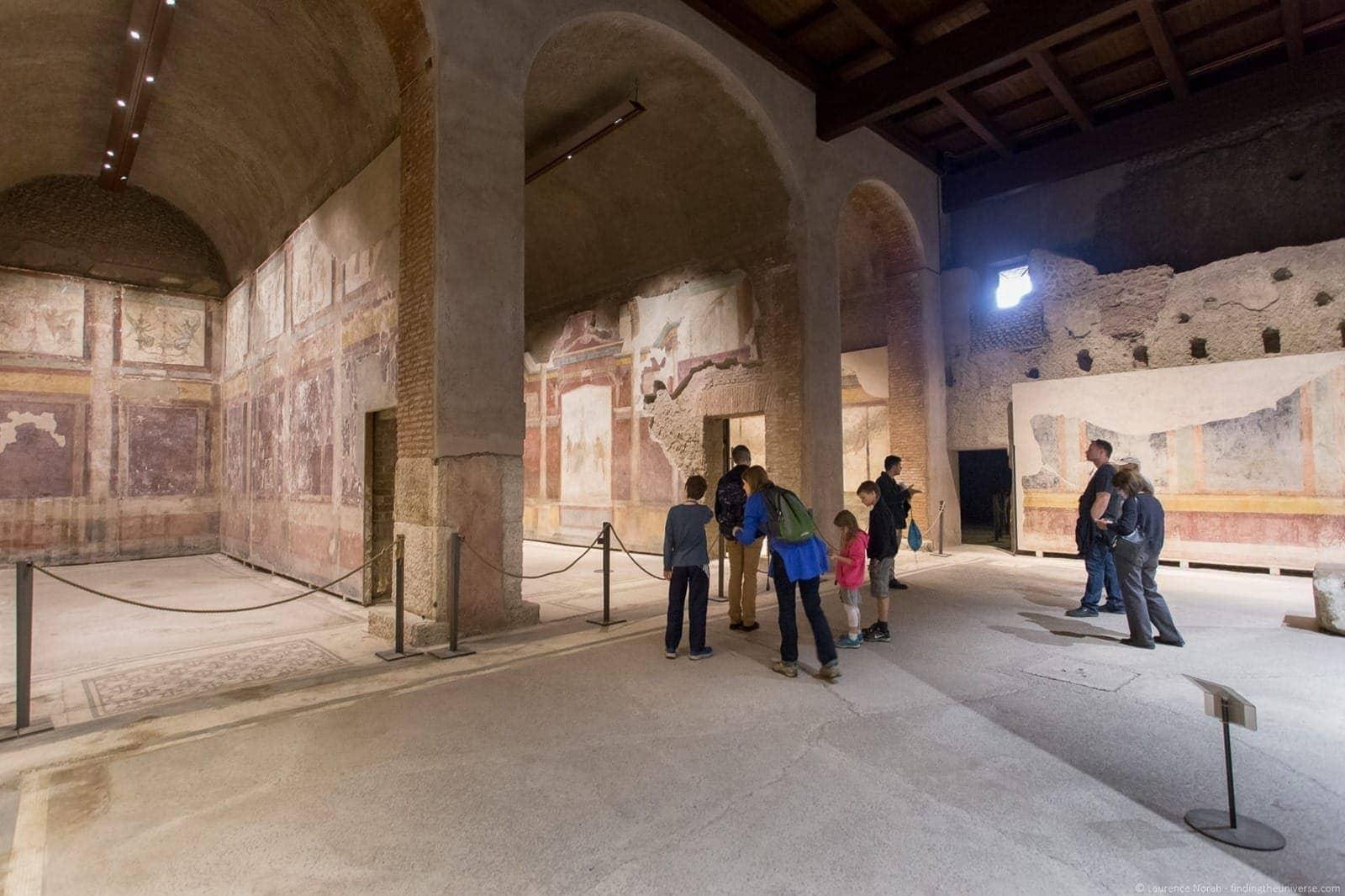 Casa di Augusto Rome interior
