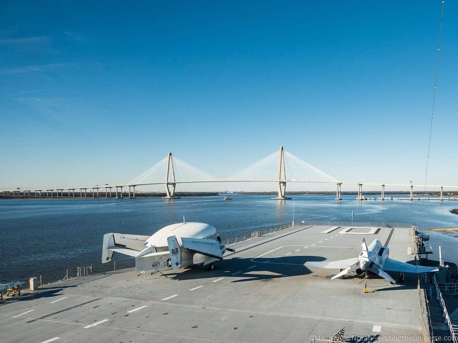 Flight deck YSS Yorktown Charleston