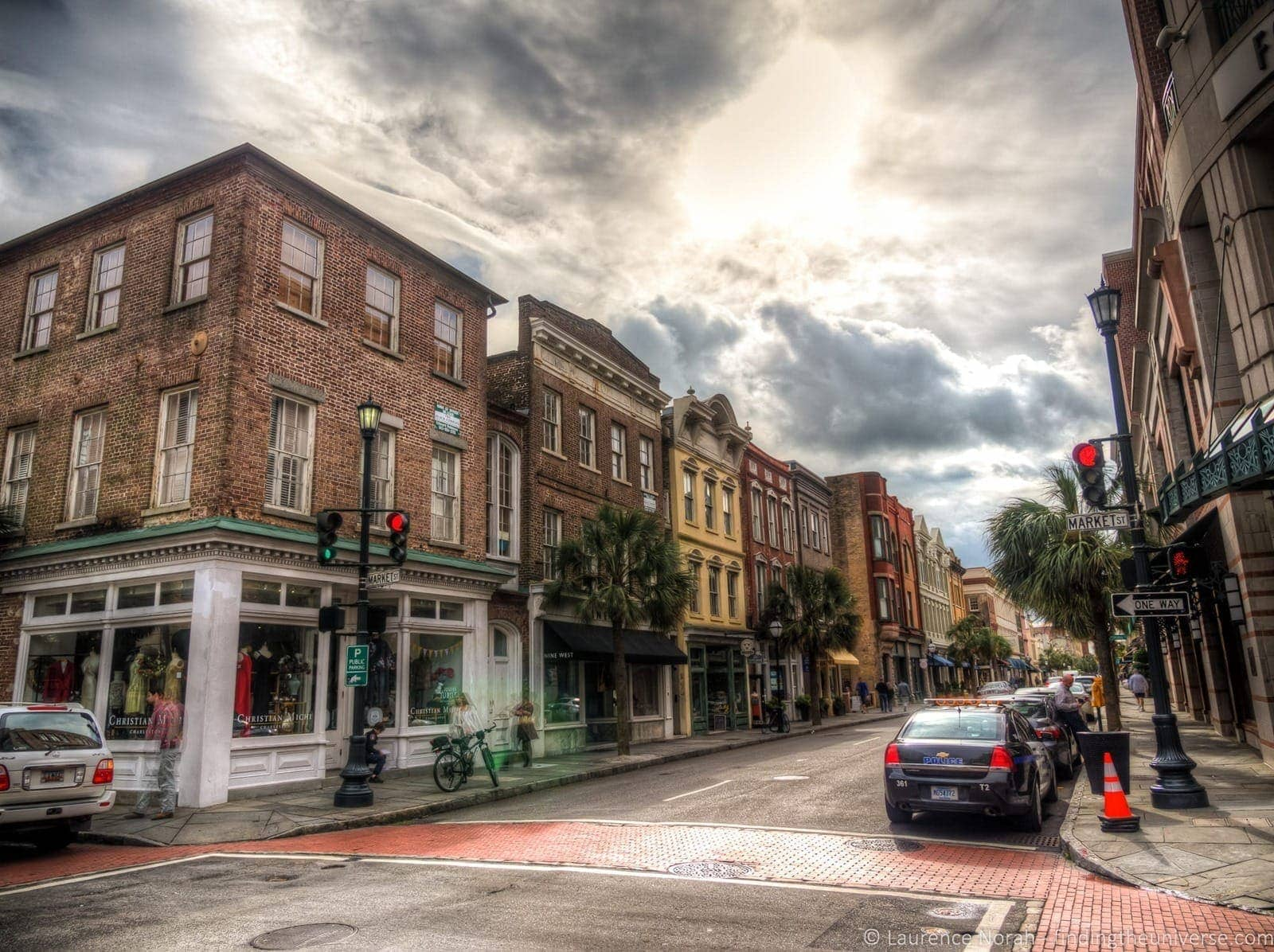 2 days in Charleston - Shopping street Charleston