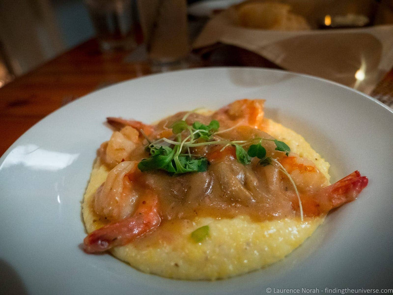 Shrimp and grits poogan's porch