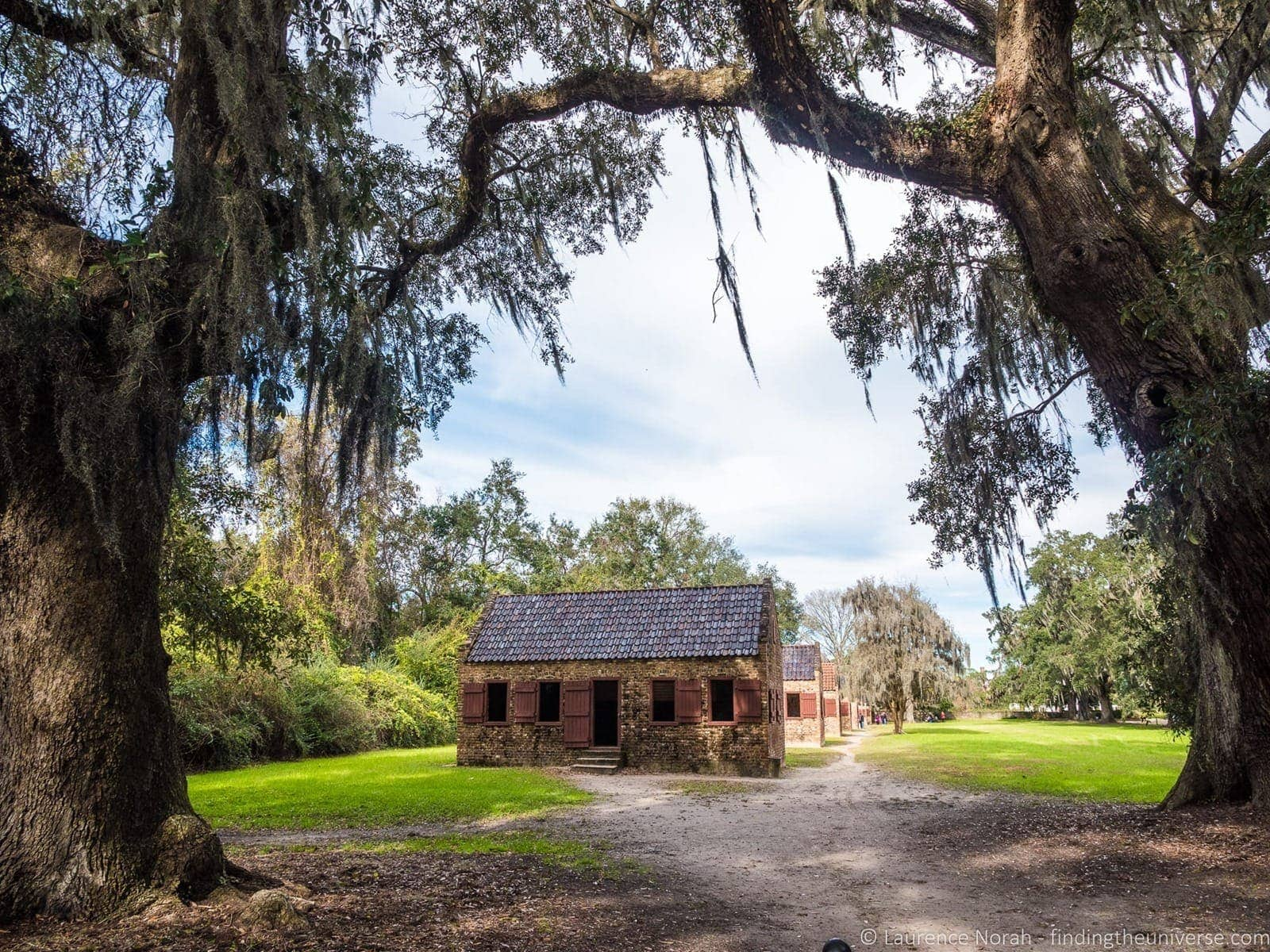 Slave Alley Boone Hall plantation Charleston