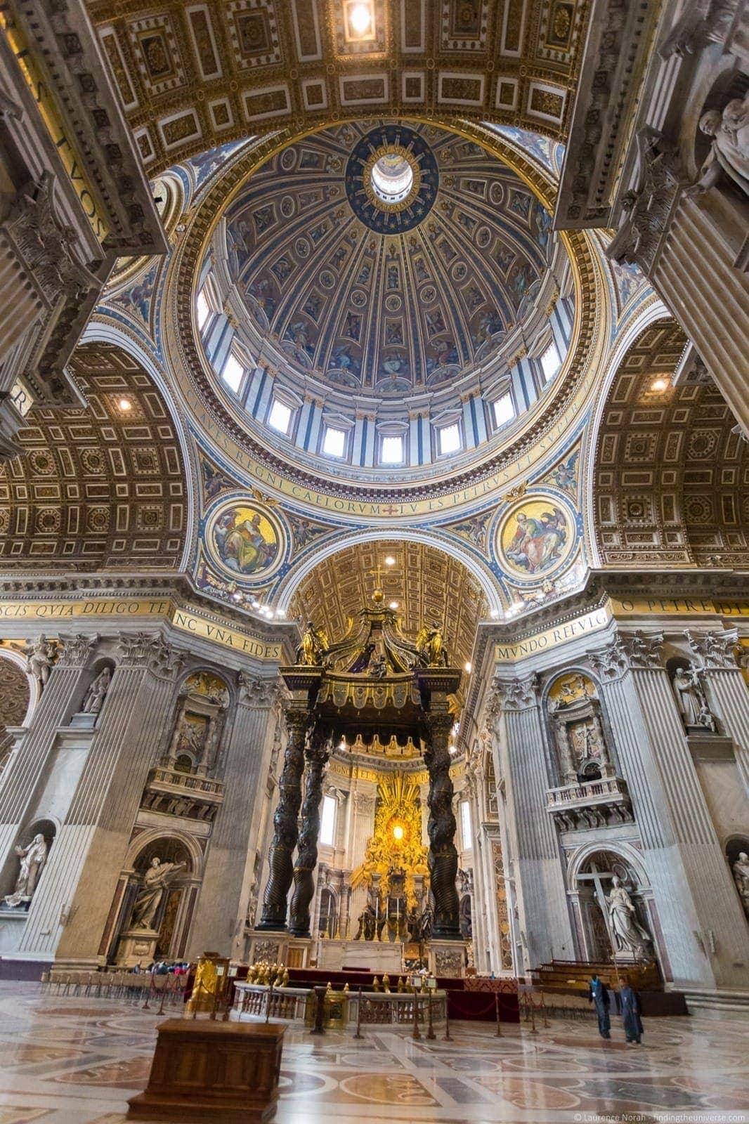 St Peters Basilica interior