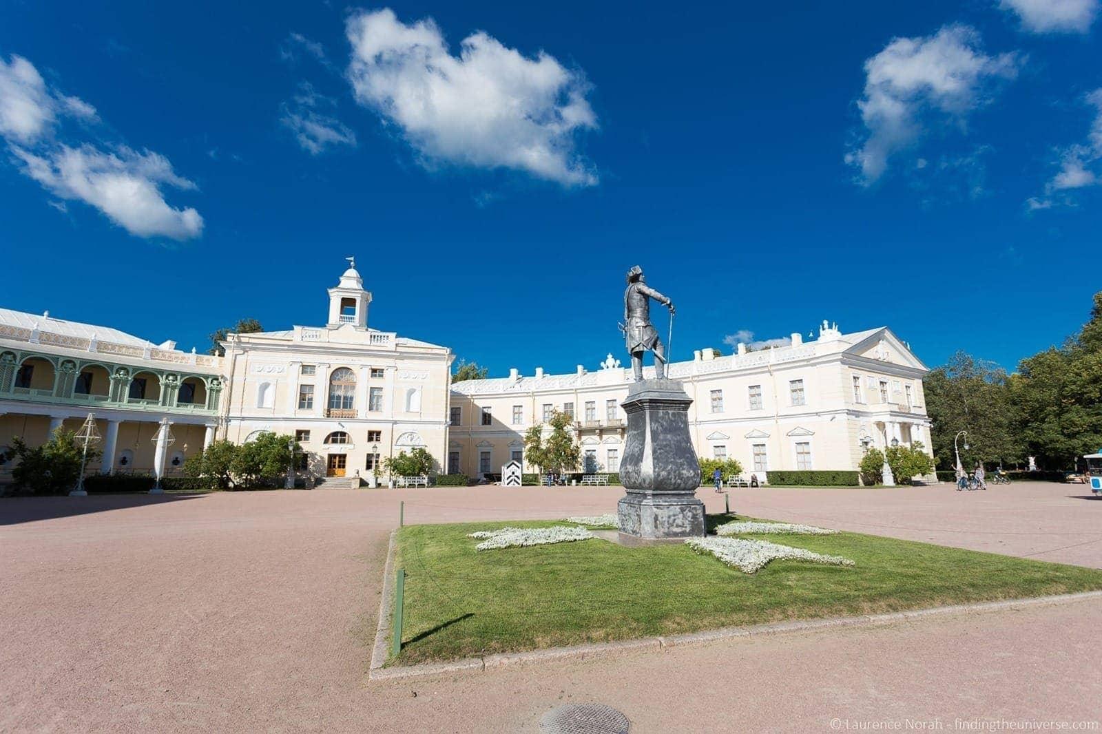 Exterior Pavlovsk Palace St Peterburg