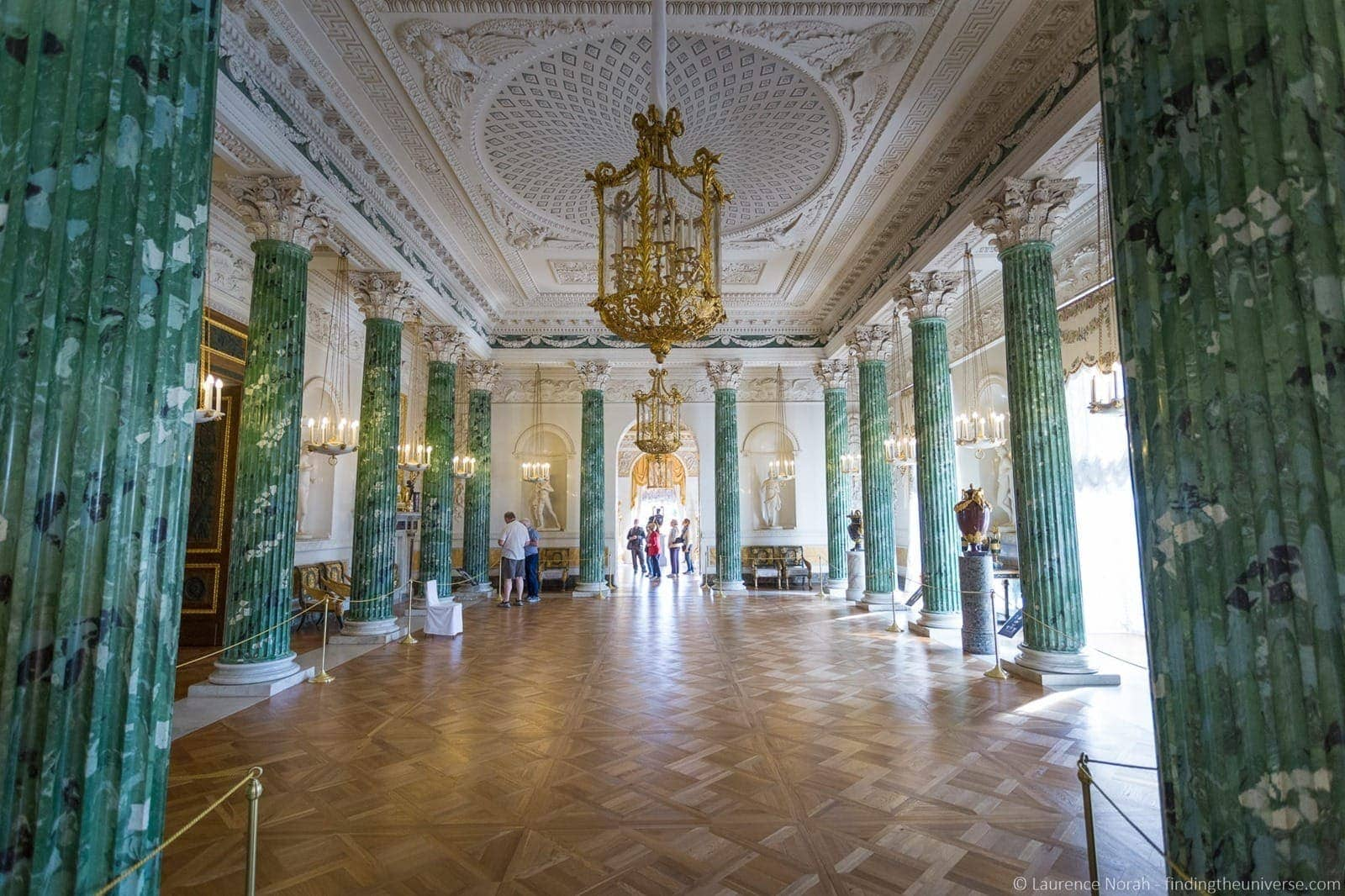 Greek room Pavlovsk Palace St Peterburg