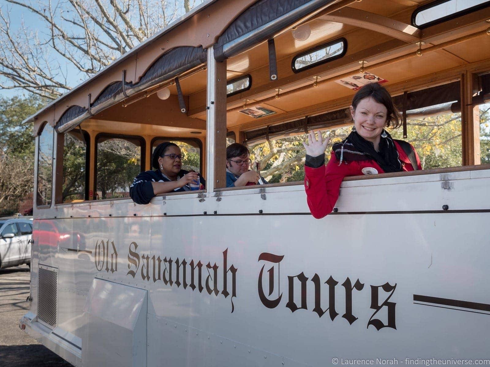 Old Savannah Tours Trolley Car