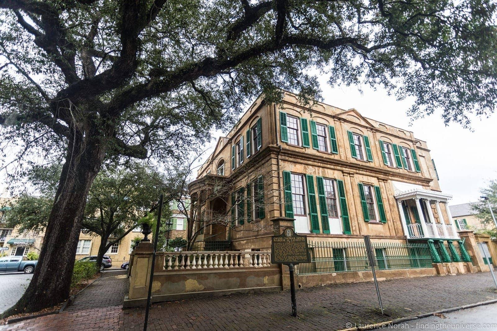 Owens Thomas House Savannah Georgia