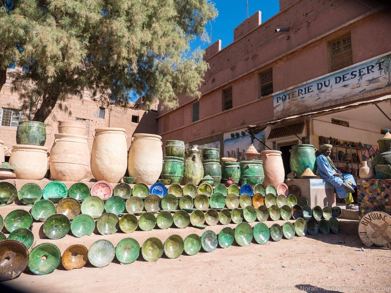 Pottery village Morocco