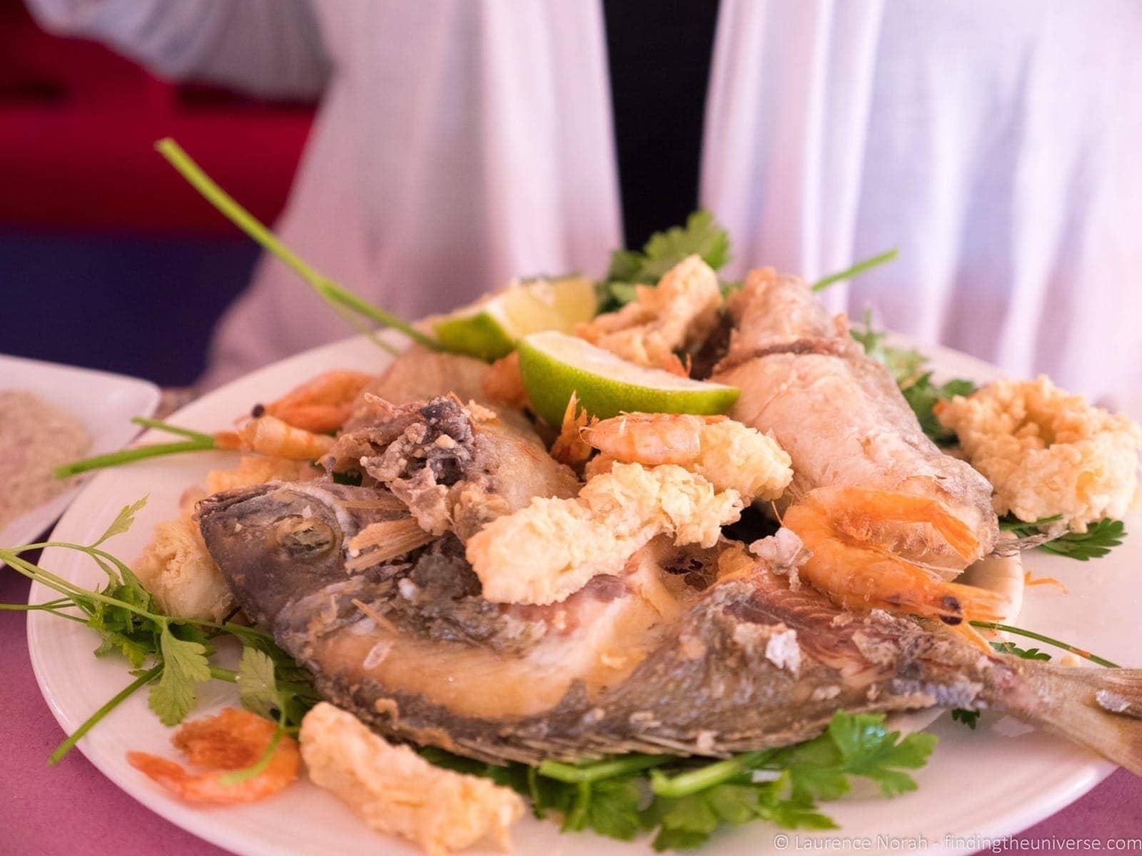 Seafood Morocco