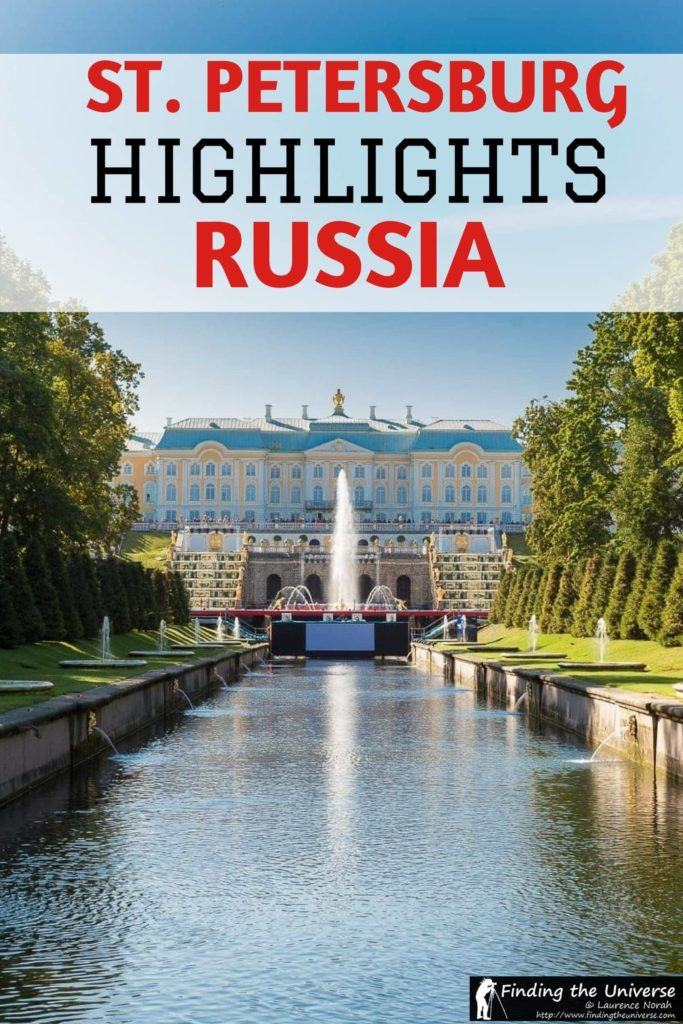 A guide to what to do in St. Petersburg in Russia, including all the sightseeing highlights plus advice on Russian visas, getting around, finding accommodation, and more!
