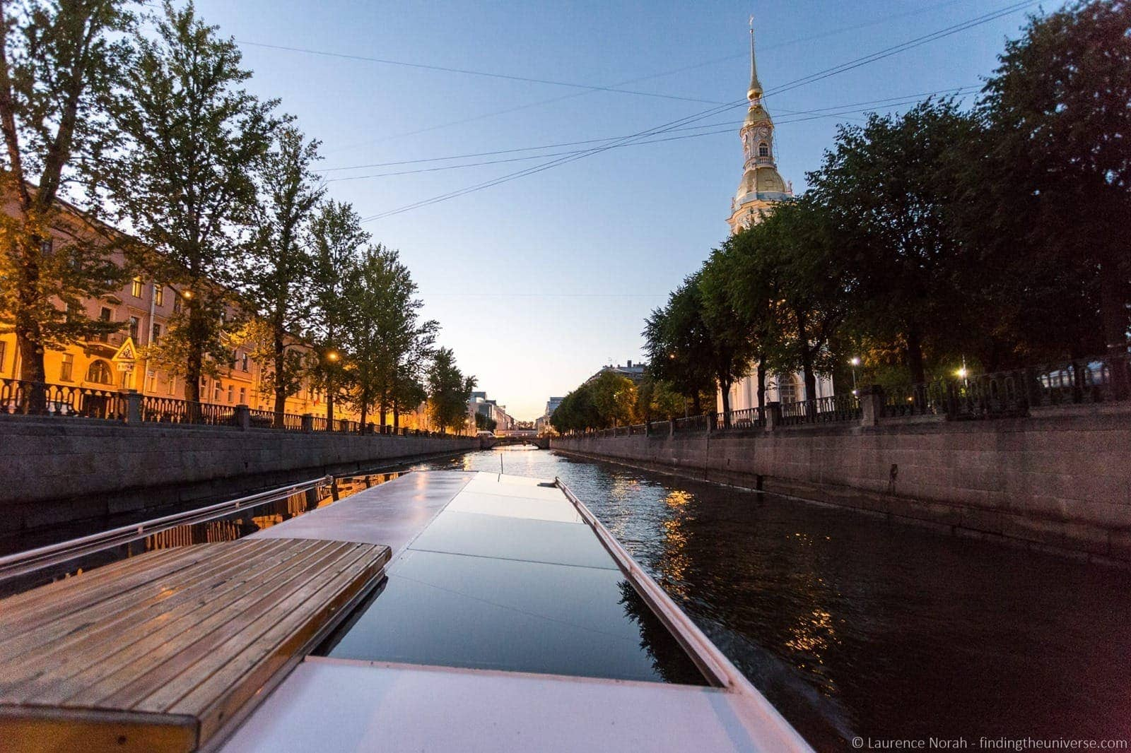 St Petersburg River Russia cruise canal