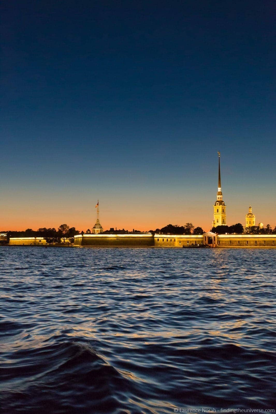 St Petersburg River Russia cruise