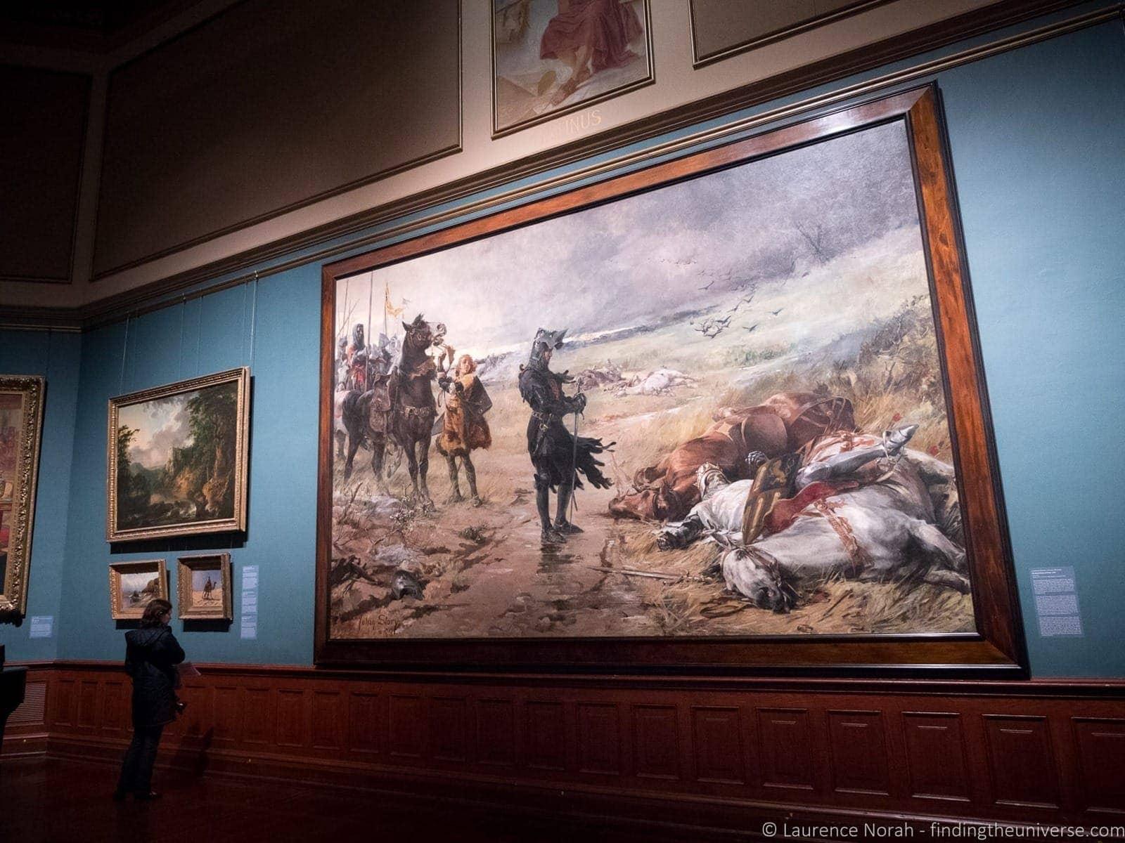 The black prince art Telfair Academy Savannah Georgia