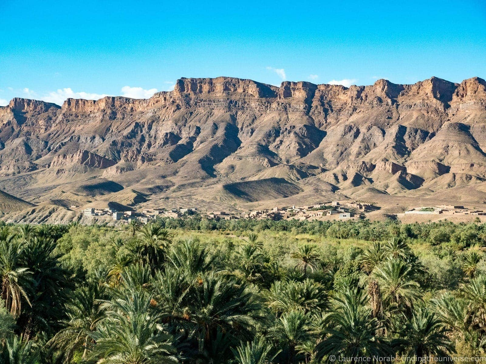 Village oasis Morocco