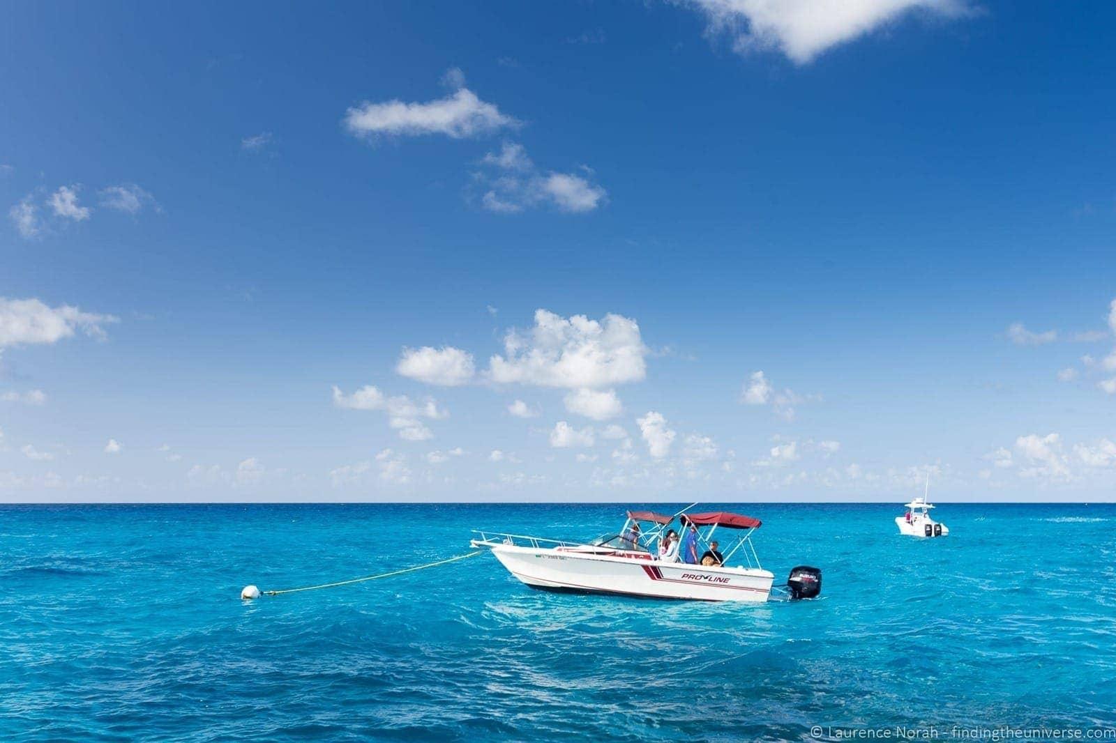 boat in the florida keys