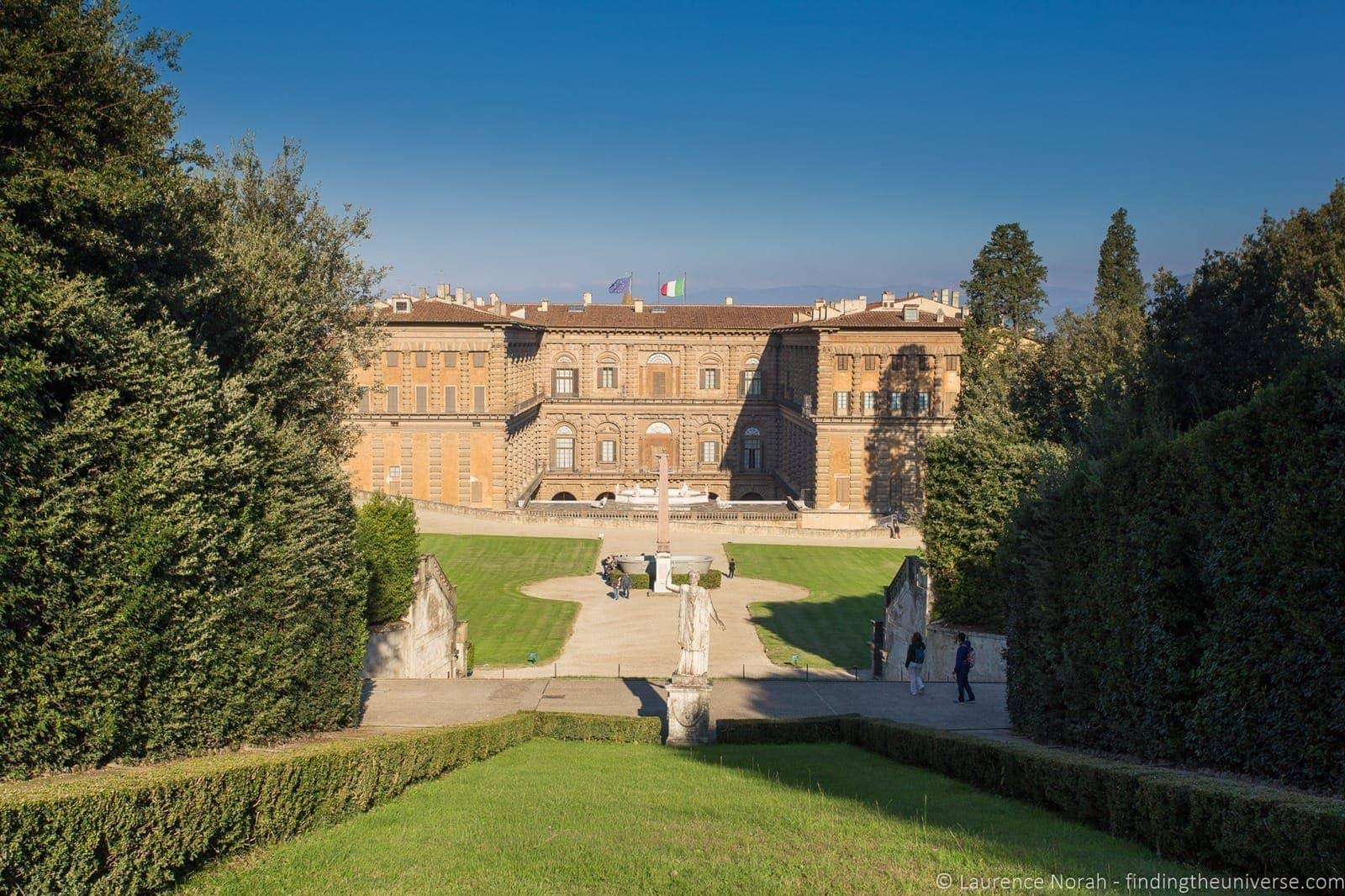 Boboli garden Pitti Palace Florence