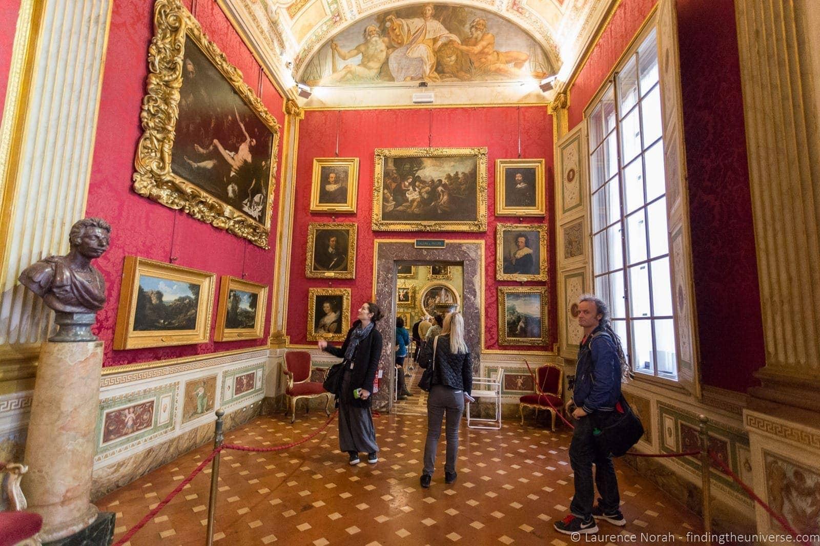 Interior Pitti Palace Florence Context Tour 2