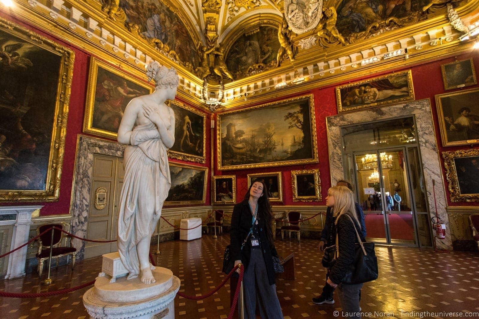 Interior Pitti Palace Florence Context Tour 4