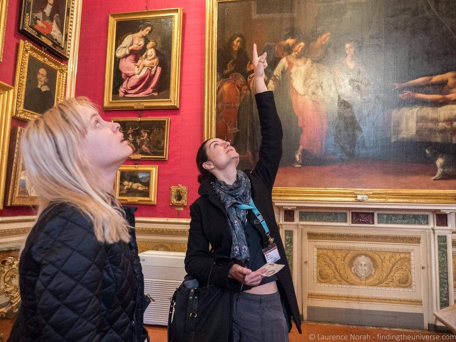 Interior Pitti Palace Florence Context Tour