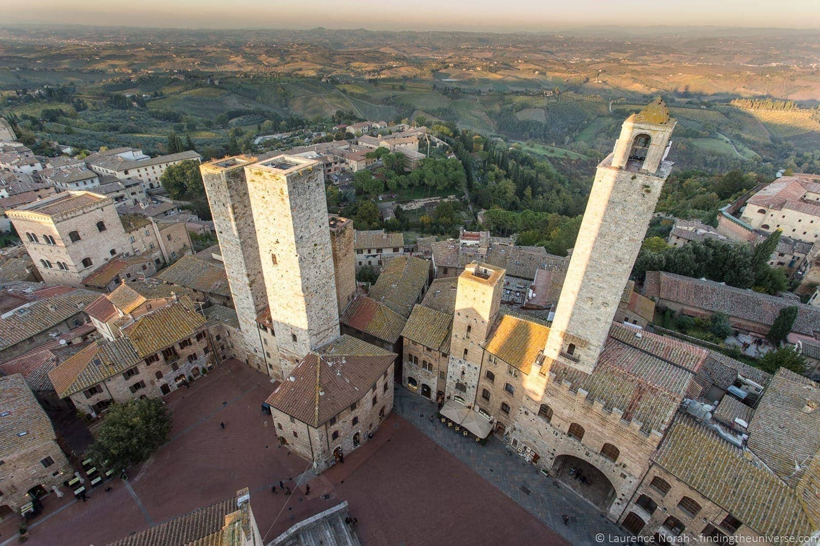 San Gimigimano from above