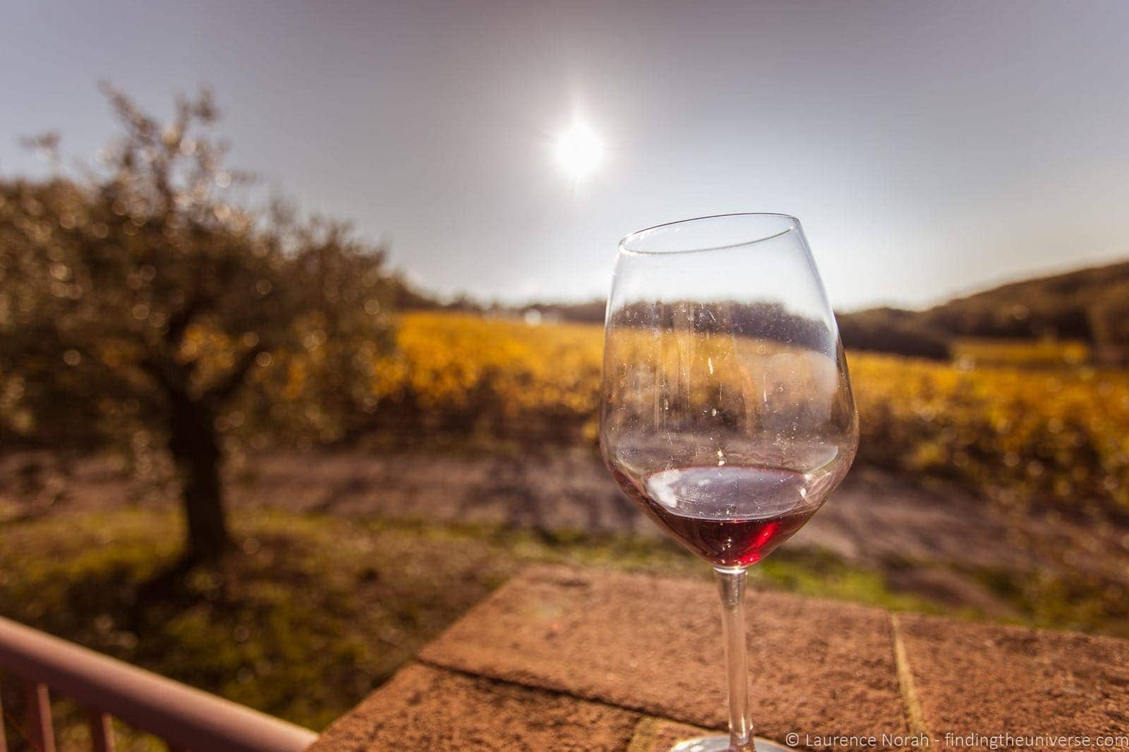 Wine glass Tuscany
