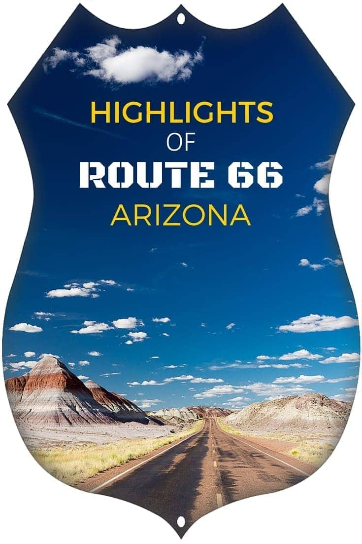 Highlights of the Arizona section of Route 66 including Seligman, Williams, Here It Is sign, Painted Desert, Wilmslow and more!