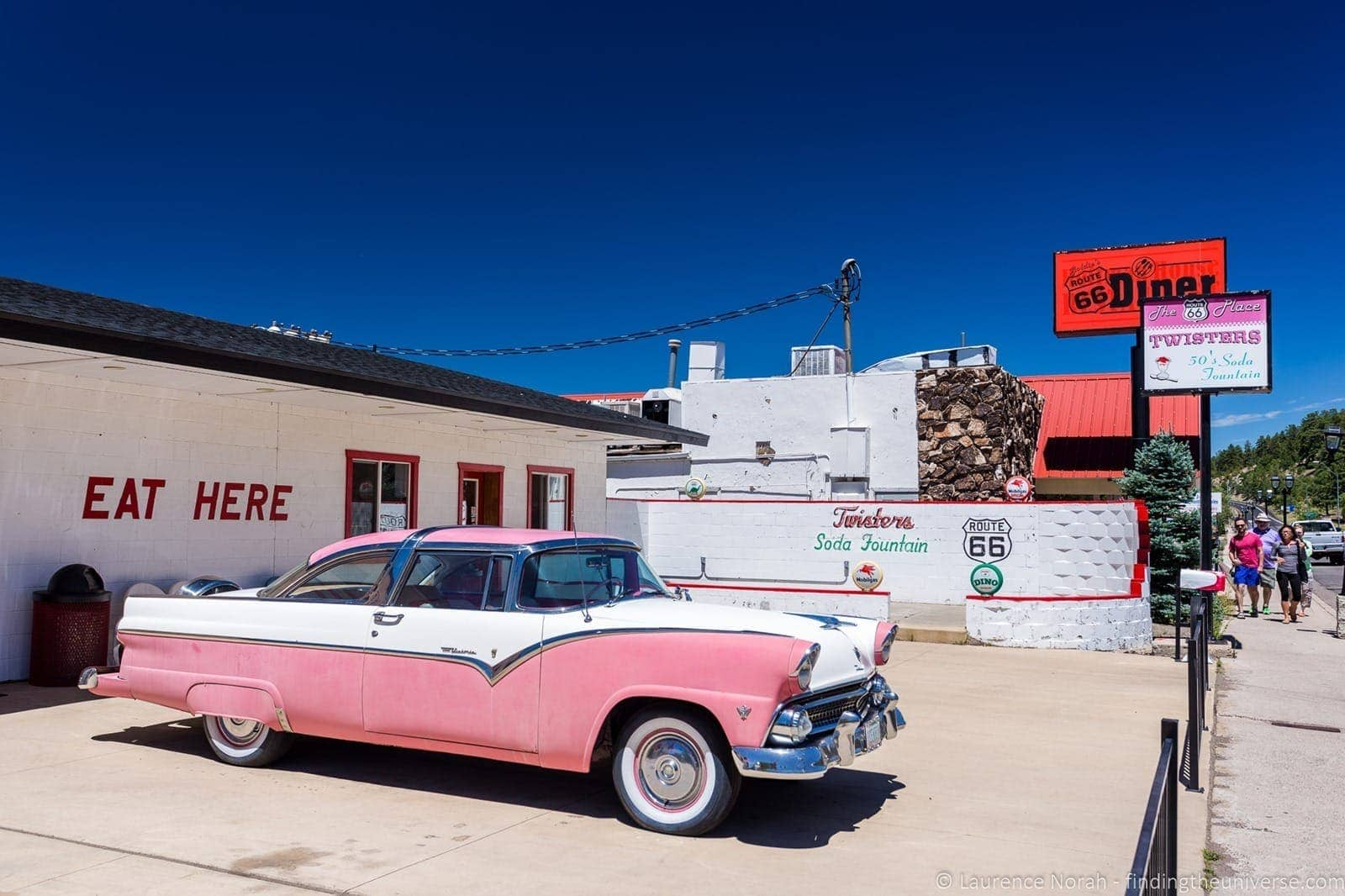 Route 66 Twisters Diner Williams Arizona