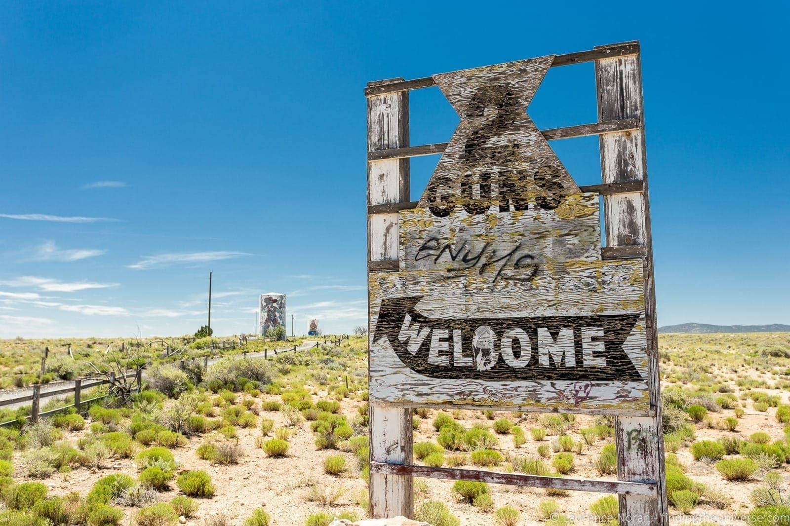 Route 66 Two Guns