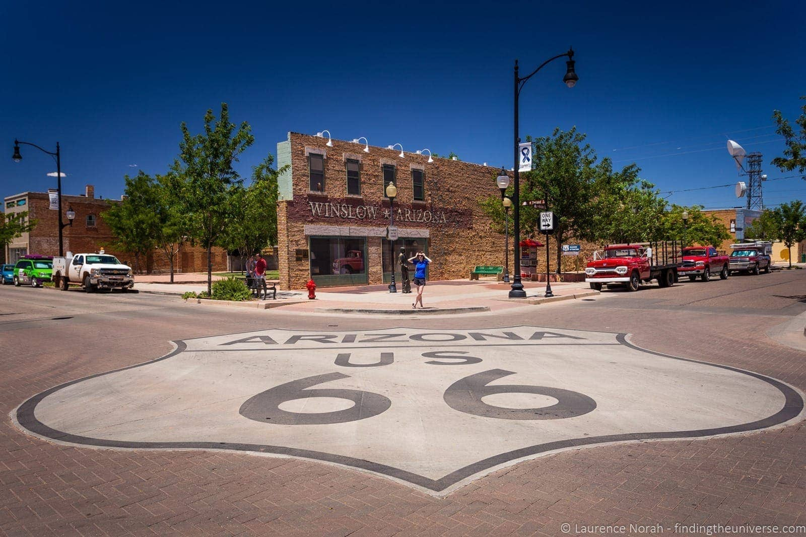 Route 66 corner winslow arizona eagles song