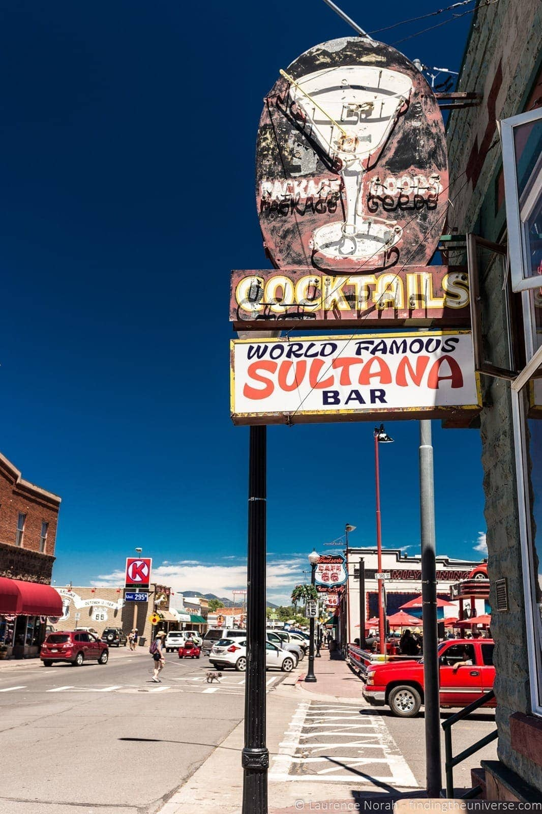 Sultana Bar Williams Arizona Route 66