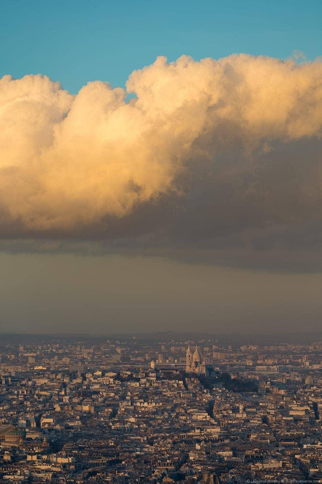 Sunset over Montmartre