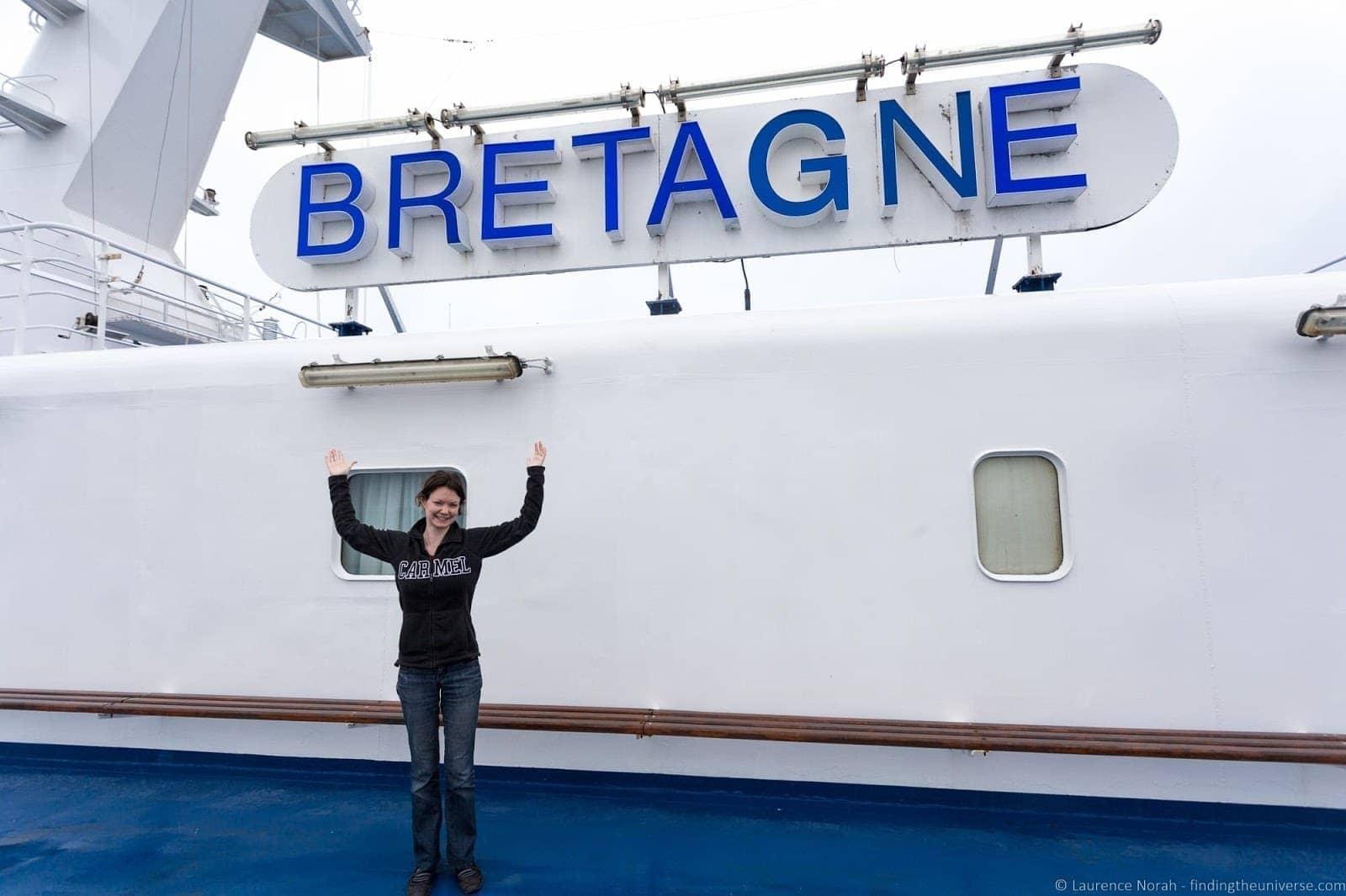 Bretagne Ferry Brittany Ferry crossing
