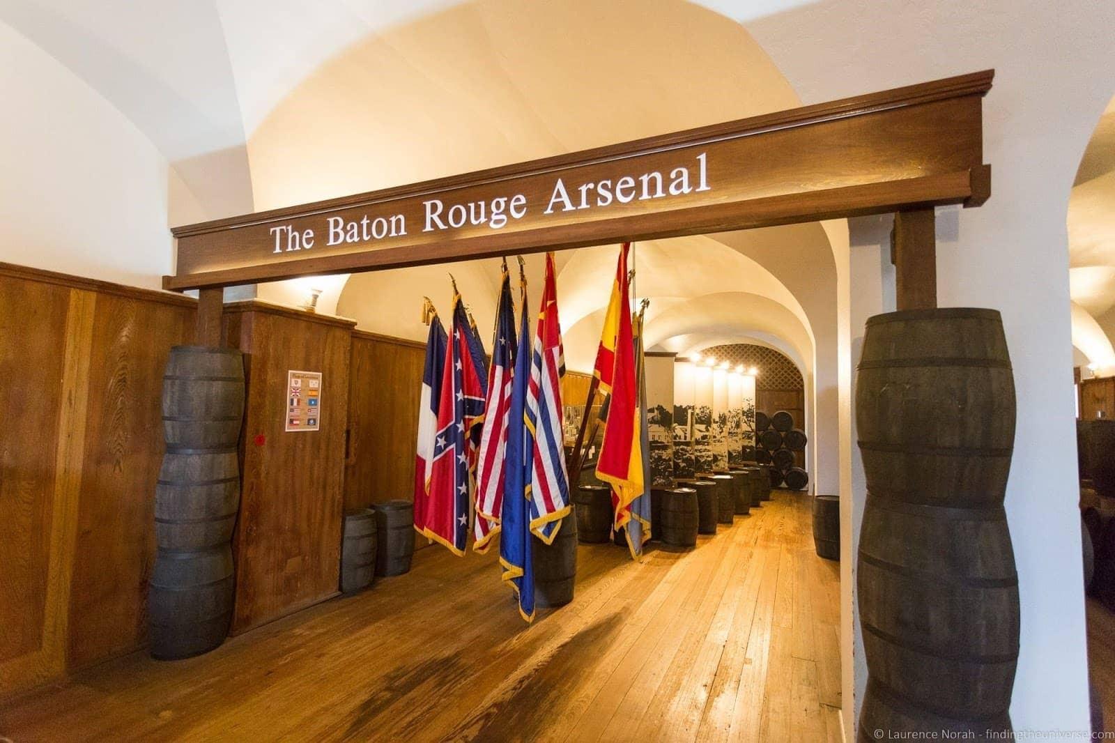 Old Arsenal Musuem Baton Rouge